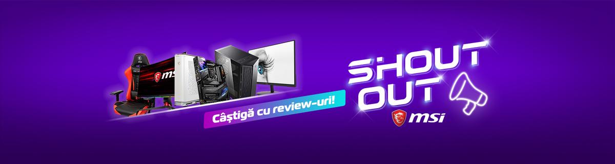 MSI - Câştigă cu review-uri!