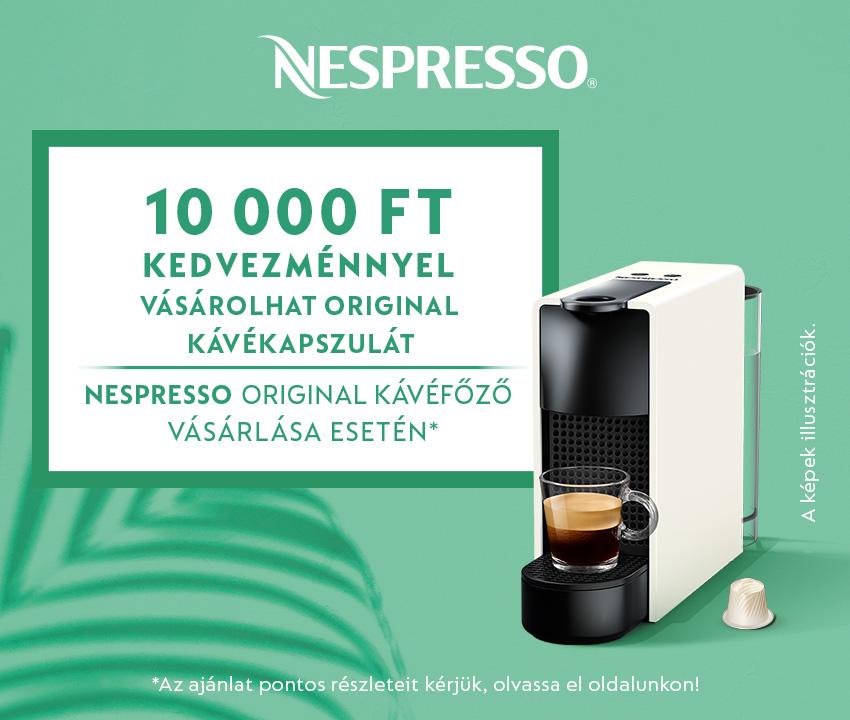 Nespresso nyár