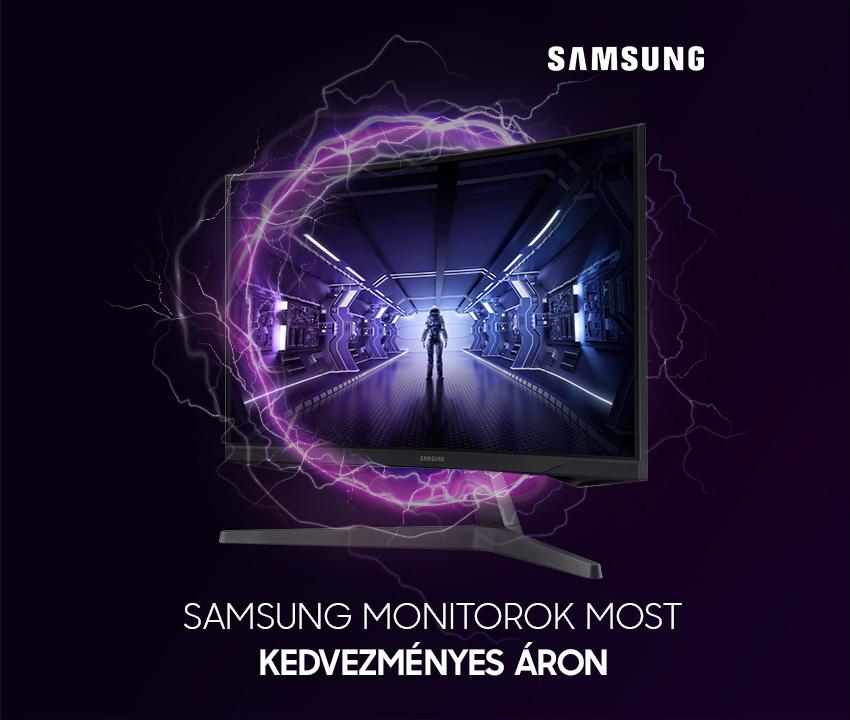 Samsung monitor akció