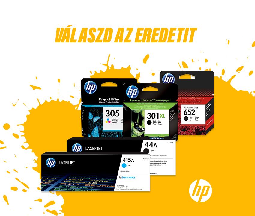 HP kellékanyagok