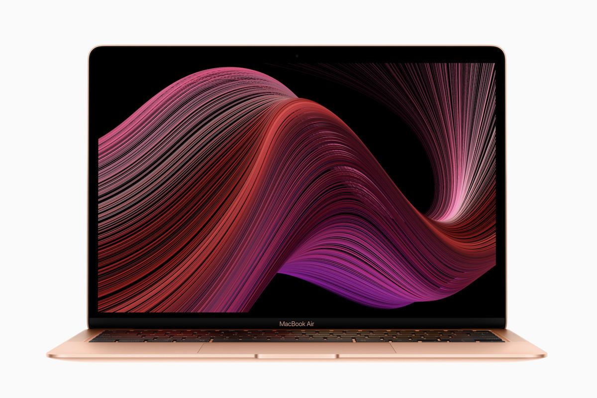 Új billentyűzetet és Ice lake processzor kapott a 2020-as MacBook Air