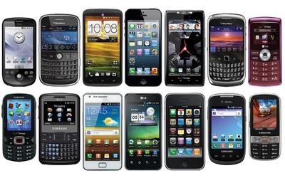 Handy, Tablet, Foto, Uhr, Drohne