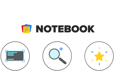 Căutare notebook